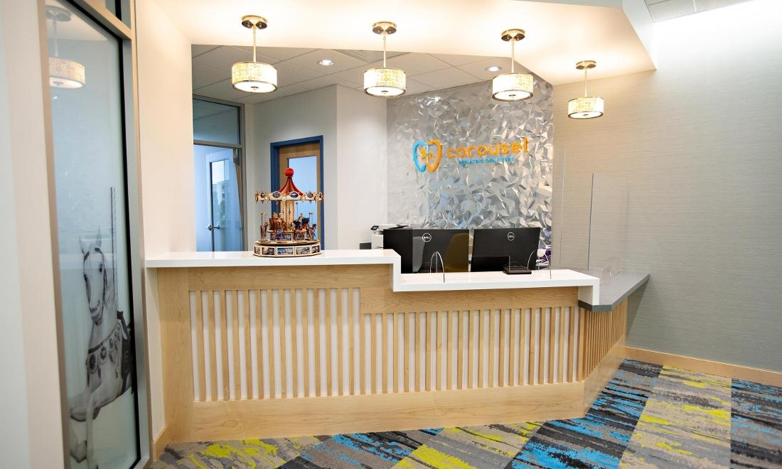 front desk l carousel pediatric dentistry